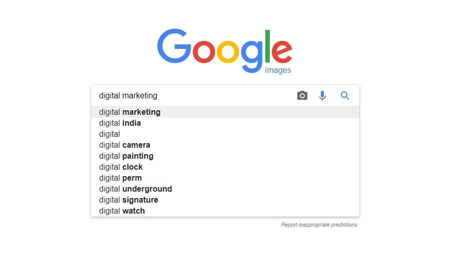 Google Advanced Image Search Steps