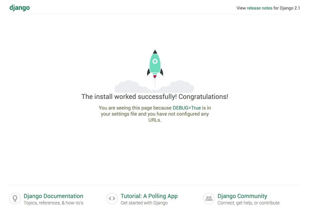 Django Development Server